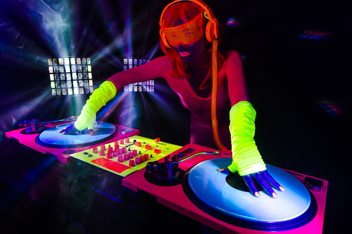 Acid trance dj's night